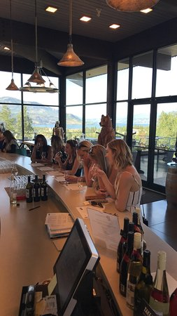 Teehouse Wine Tours: Indigenous tasting with a view.