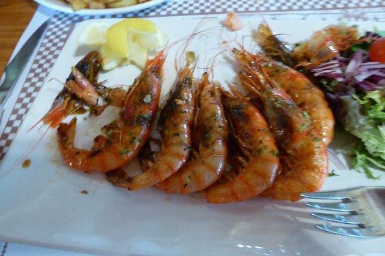 Meson Ca'n Pedro: Garlic Prawns