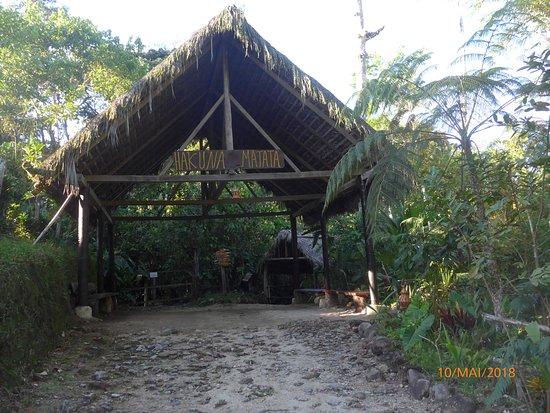 Archidona, Ecuador: Eingang zur Lodge