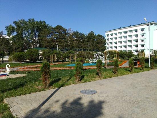 Lazurny Bereg: отель