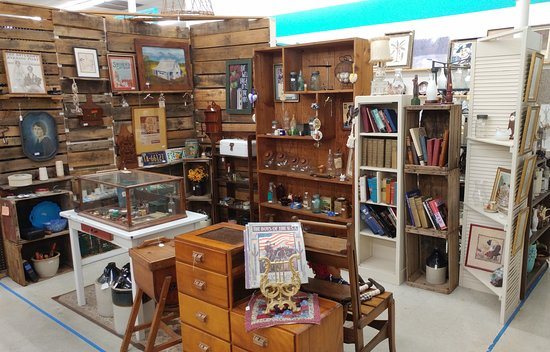 Shopping at Indian River Antique Mall, 1433 S. Babcock St. Melbourne FL.