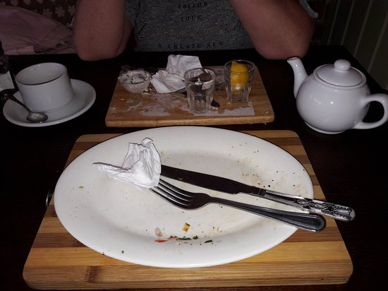 Chapter One Bistro: One word excellent empty plates says it all for us thank you we will be back