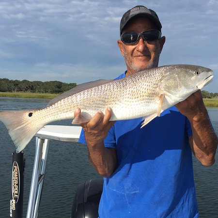 Hot Fun Fishing Charters: Fishing with Capt.Dennis is fun and very informative experience for people of all ages see the m