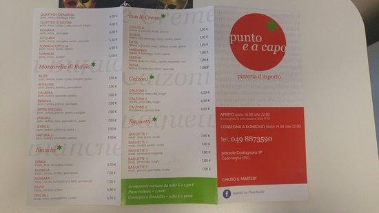 Cadoneghe, Italy: Pizzeria Punto e a Capo