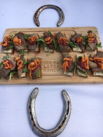 See Ya Later Ranch Patio Restaurant: Celebration of Neighbours - Canape