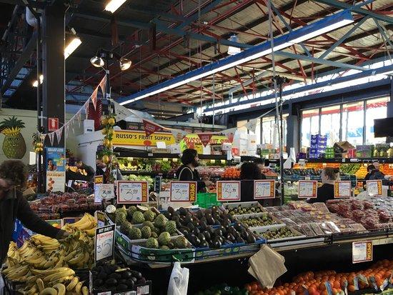 Prahran Market: Vegetables.
