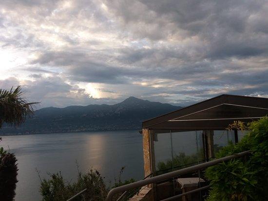 Ristorante Panoramico: Sonnenuntergang vom Panoramico