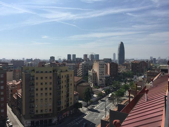 Catalonia Atenas Hotel: View from rooftop