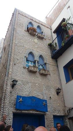 Casa de Las Conchas: fachada