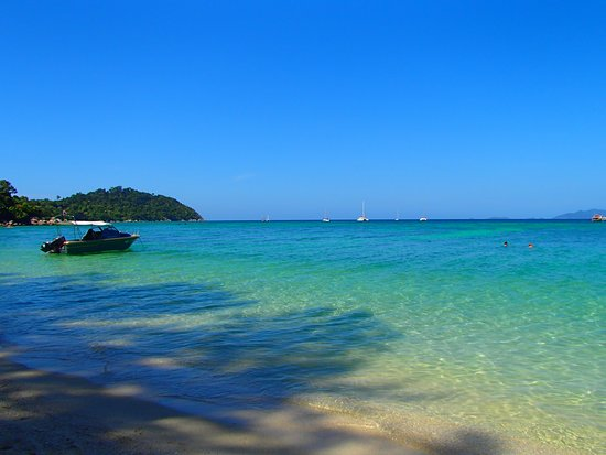 Ricci House Resort Koh Lipe: Sunset beach