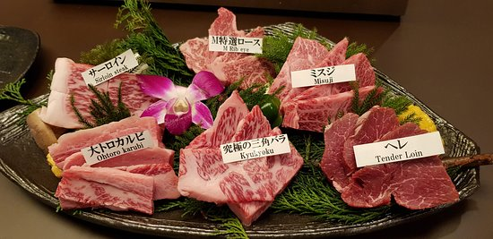 Matsusakagyu Yakiniku M, Hozenji Yokocho : matsusaka dish