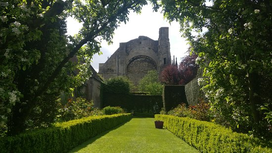 Around and About Bath: Our tours are about more than just visiting places... this garden holds the first king of Englan