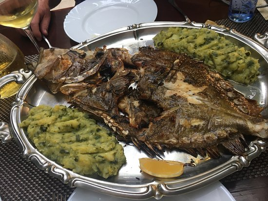 Zure Restaurant: John Dory for two