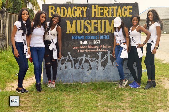 Badagry Heritage Museum. Built in 1863 and used as the District Officer's Office, a 9 gallery mu