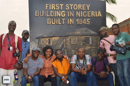 Badagry, Nigeria: The First Storey Building built by European Missionaries; it still has the first bible in Nigeri