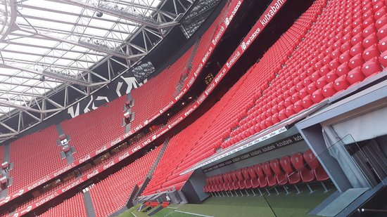 San Mames Stadium: vista del interior