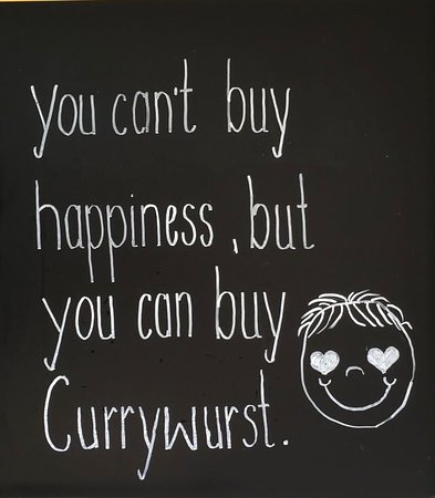 Harrislee, Germany: You can't buy happiness