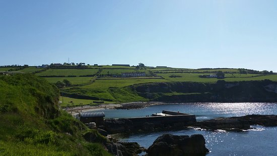 Portmuck Harbour: View up the East Antrim Coastline