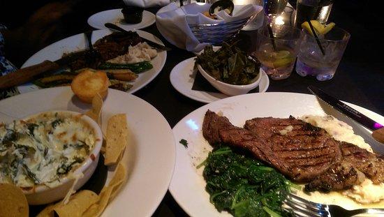Suite Lounge ATL : VIP Ribeye meal
