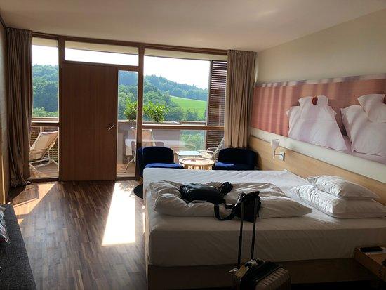 Stegersbach, Avusturya: habitacion clasica Excelente vista , iluminacion y confort