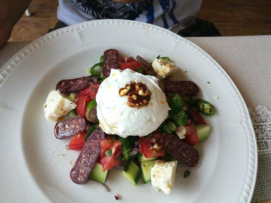 Restaurant Shtastliveca : Shepherds salad
