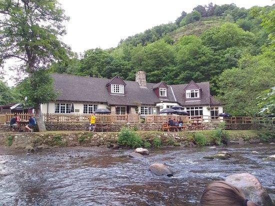 Drewsteignton, UK: Pub