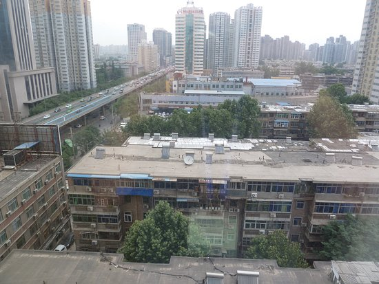 Wyndham Xian: View from hotel room