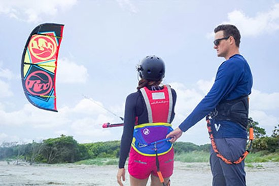 Session Sports: We provide all of the kiteboarding equipment and are right there with you every step of the way!