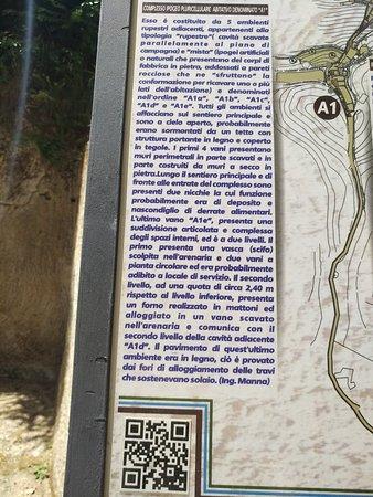 Le Grotte - Museo della Civiltà Contadina ed Insediamento Rupestre : Insediamento Rupestre e Museo della Civilta Rupestre e Contadina