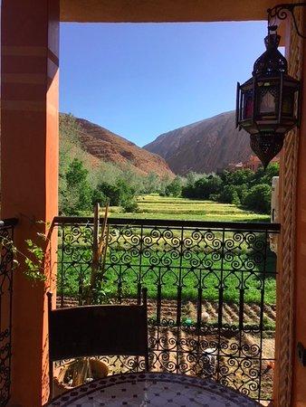 Dar Rihana Dades: Little balcony by the family suite