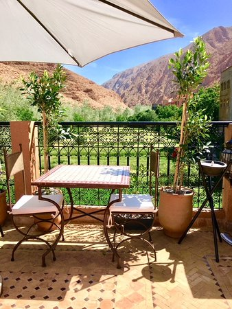 Dar Rihana Dades: Great place for afternoon tea or a drink