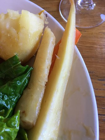The Still & West : Honey roasted carrots and parsnips