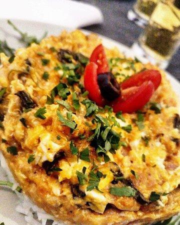 Ti Maria: fritata de legumes