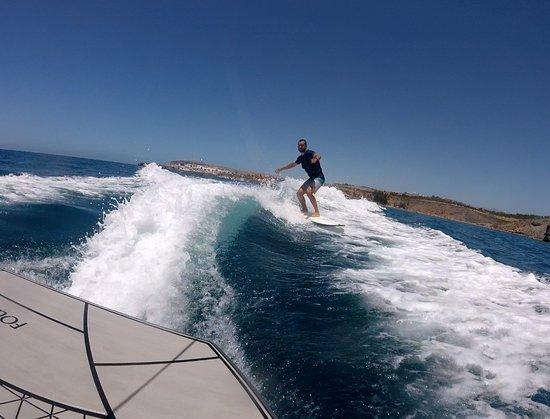 Surf Maspalomas: wake surf time