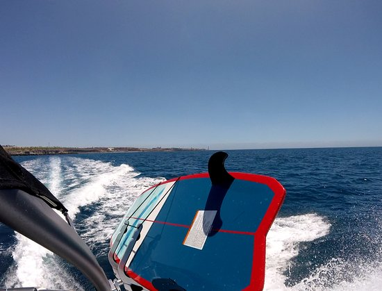 Surf Maspalomas: the only wake surf boat in canary island