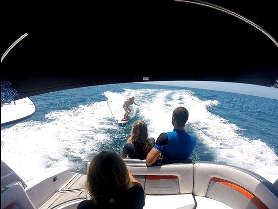 Surf Maspalomas: easy way to stard wake surf