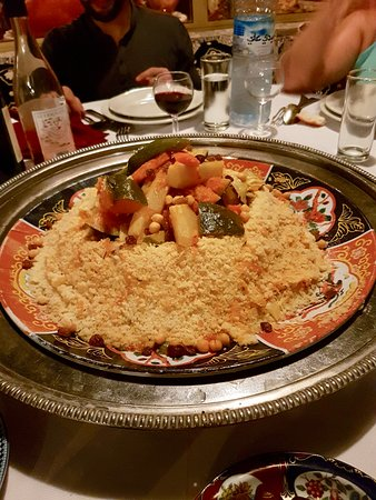 Restaurant Chez Ali: Très bon couscous légumes-poulet !
