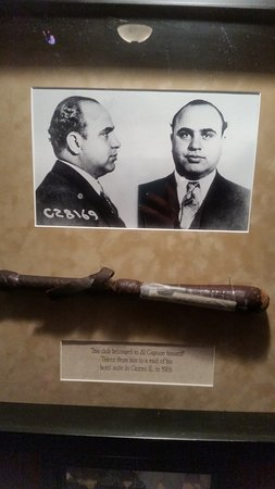 Ohio Club: Al Capone memorabilia