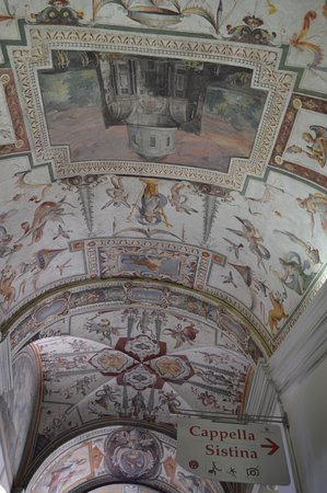The way to the Sistine Chapel