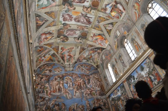 Sistine Chapel: There are works not only of Michelangelo in the Chapel