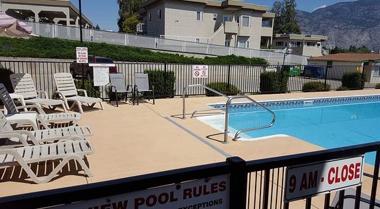 Lakeview Motel & Suites: Pool/lounge area