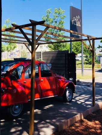 Vendargues, Francia: La voiture du restaurant!