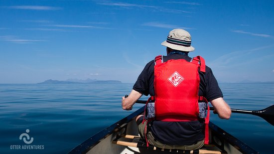 Strontian, UK: Perfect conditions for paddling out to open sea in a canoe and discovering amazing views & wildl