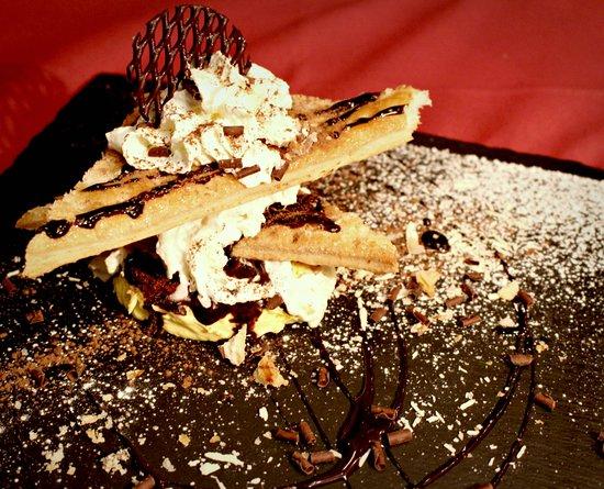 Nessun Dorma Pizzeria Ristorante : Millefoglie al cioccolato