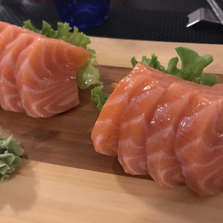 San Pietro in Casale, Italy: Sashimi salmone