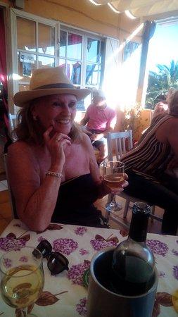 Mum enjoying Fun in the Sun x