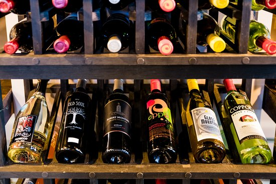 The Courthouse Deli & Whit's Frozen Custard: Carefully selected wines by the bottle or the case