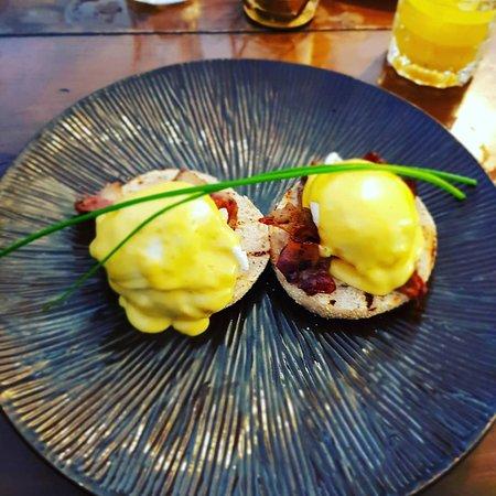 The Torfin: Eggs benedict