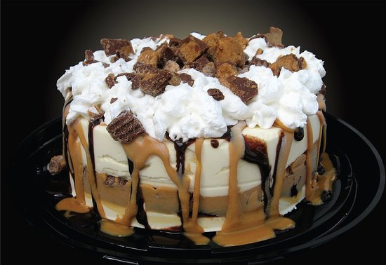 The Courthouse Deli & Whit's Frozen Custard: Custom Frozen Custard Cakes made fresh to order.  Please allow 48 hours for special flavors.