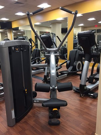Hilton Orlando Bonnet Creek: Fitness center - pull down